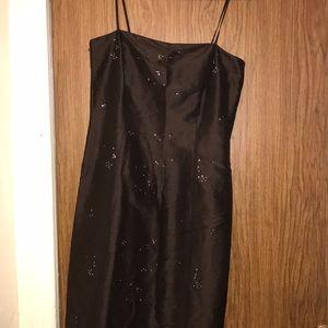 Ann Taylor woman brown dress size 4